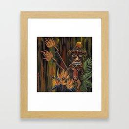 Pele's Fury Framed Art Print