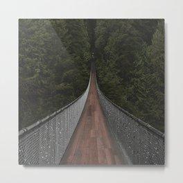Capilano Suspension Bridge Metal Print