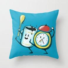 Wake up! Wake up! Throw Pillow