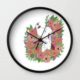 Marti Flower Wall Clock
