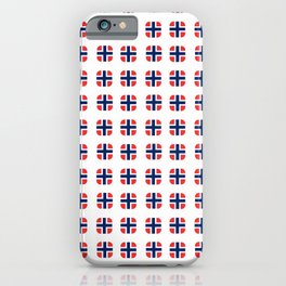 flag of norway - with soft square iPhone Case