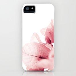 Flowers flash iPhone Case