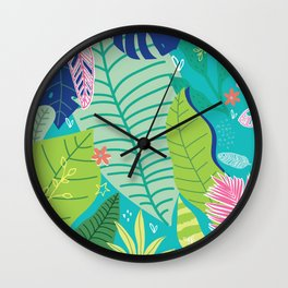 Southern Prepster Charm Wall Clock