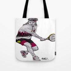 Tennis Agassi Tote Bag