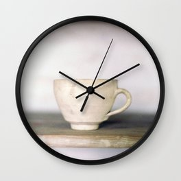 cup of kindness Wall Clock