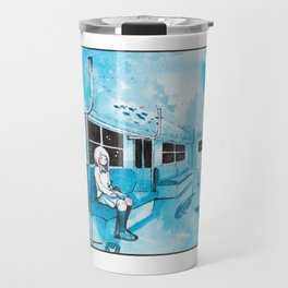 Underwater Subway Travel Mug