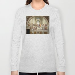 Raphael - The School of Athens Long Sleeve T-shirt