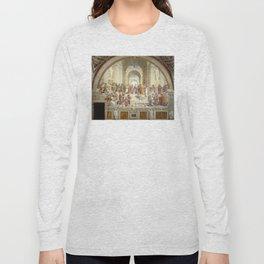 Raphael - The School of Athens Long Sleeve T-shirt