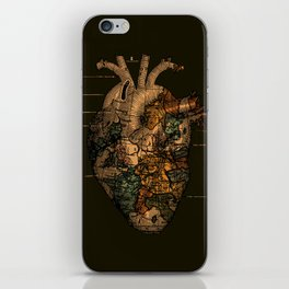 I'll Find You (Dark Brown) iPhone Skin