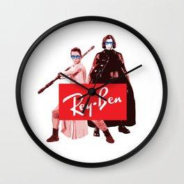 Star - Rey Ben Sunglasses - Wars Wall Clock