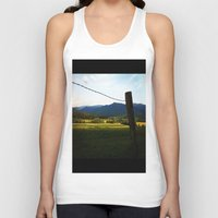 rustic Tank Tops featuring Rustic by Blue Lightning Creative