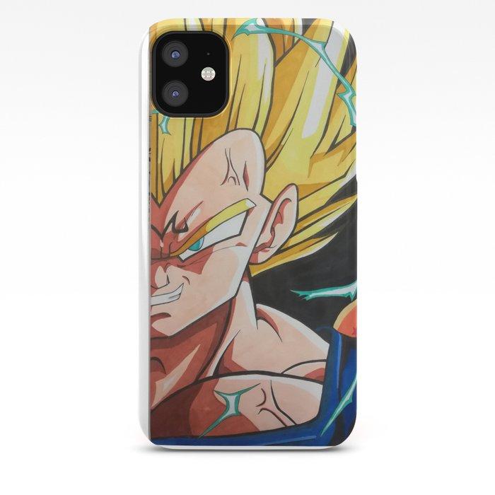 Dragon Ball Z DBZ Vegeta Art 2 iphone case