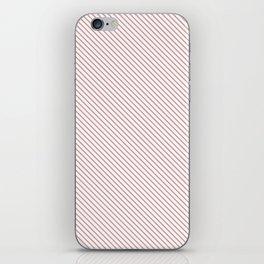 Bridal Rose Stripe iPhone Skin