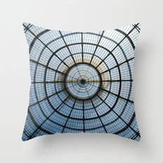 Sky eye Throw Pillow