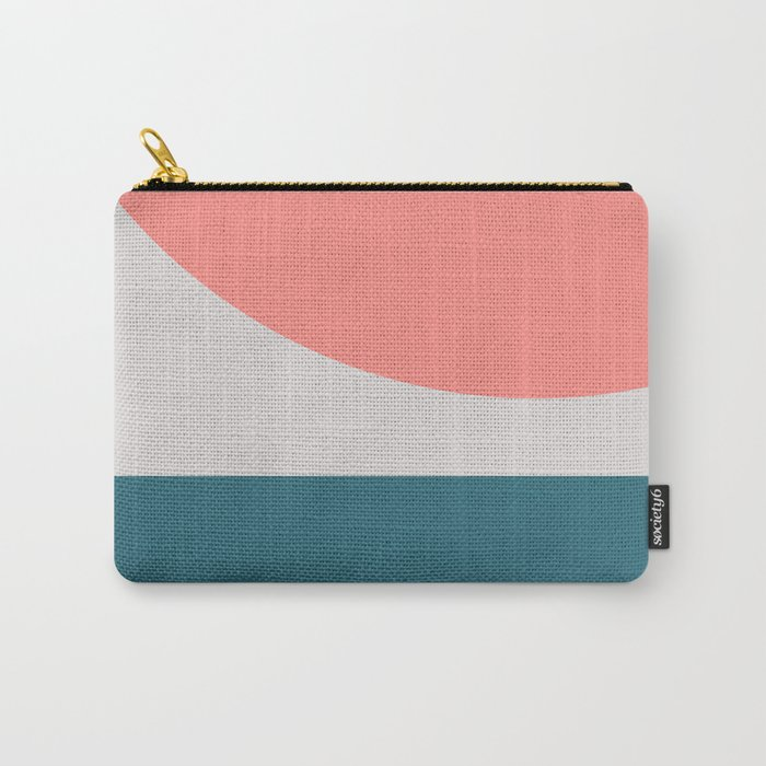 Geometric Form No.8 Carry-All Pouch