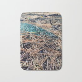 Pine tree forest Bath Mat