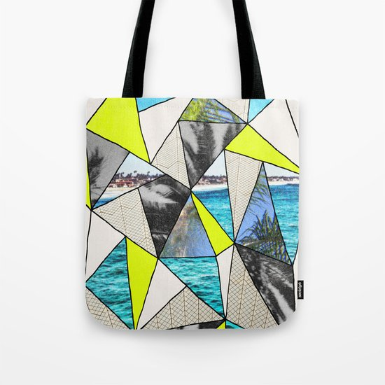PALM POINT Tote Bag