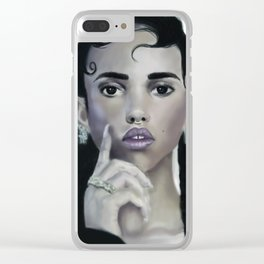 FKA Twigs Clear iPhone Case