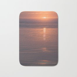 Sunset Sings Quietly Bath Mat