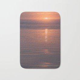 Sunset Sings Quietly Bath Mat