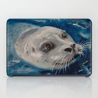 seal iPad Cases featuring Seal by Andrea Vreken Art