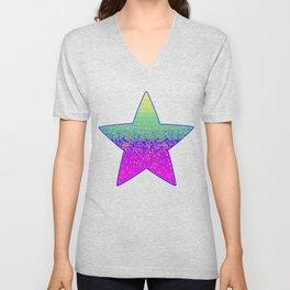 Glitter Star Dust G289 Unisex V-Neck