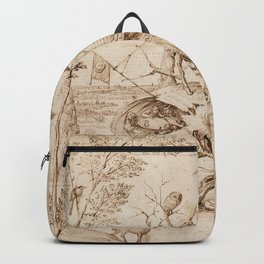 Hieronymus Bosch - The Tree-Man Backpack