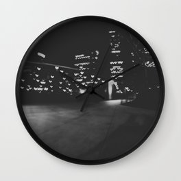 Love in Chicago Wall Clock