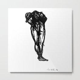 Boceto gestual 10 Metal Print