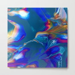 Hummingbird Nebula Metal Print