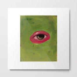 abstract eye Metal Print