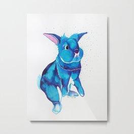 Bunny Begging For Treats! Metal Print