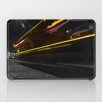 dumbo iPad Cases featuring DUMBO Light trail by Juha Photography