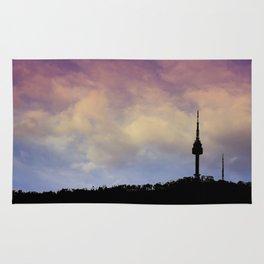 Seoul Tower - Sky Colors Rug