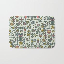 36dot Flower Garden Bath Mat