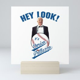 ENRICO PALLAZZO - THE NAKED GUN Mini Art Print