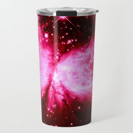 A Star is Born : Hot Pink Galaxy Travel Mug