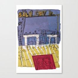 Vauxhall Salvage Centre Canvas Print