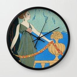 George Barbier Isola Bella c1932 Wall Clock