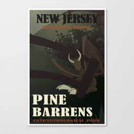 CPS: Pine Barrens, NJ Canvas Print