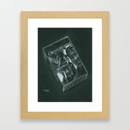 Diary of a Madman Framed Art Print