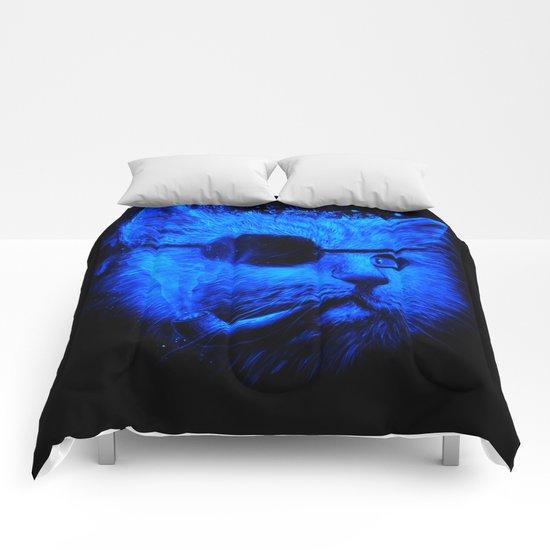 Irie Eye Blue Comforters