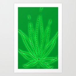 Its Just a Leaf Art Print