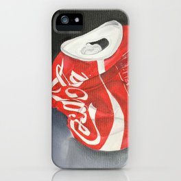 Coca-Cola Can iPhone Case
