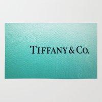 tiffany Area & Throw Rugs featuring Tiffany by Christine Leanne