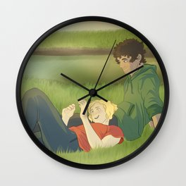 The Cynic and The Believer Wall Clock