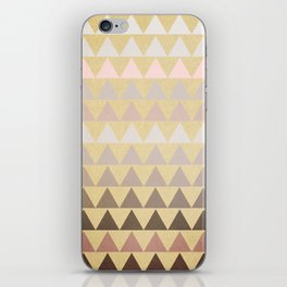 Muted Triangles iPhone Skin