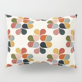 Retro geometry pattern Pillow Sham