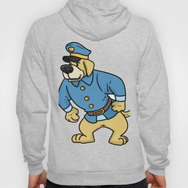 police policeman officer gift security guard law Hoody