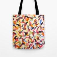 sprinkles Tote Bags featuring Sprinkles by Rachel Butler